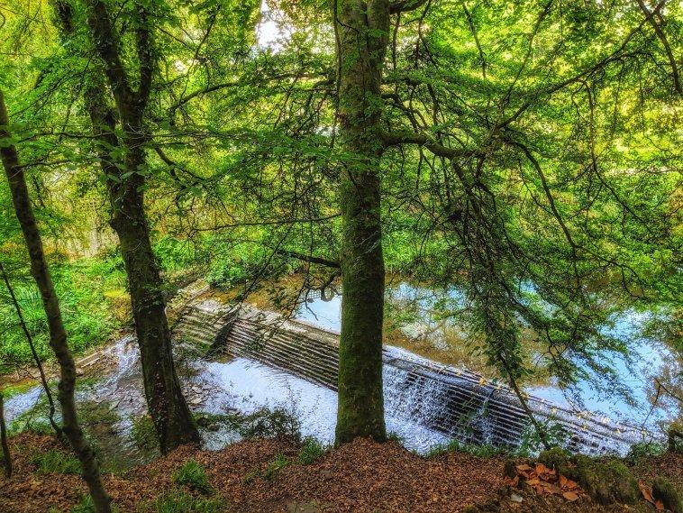 Snuff Mills Waterfall