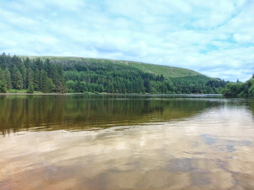 Pontsticill Reservoir in summer