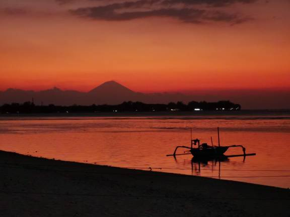 Sunset at Gili Meno