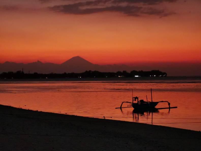 Sunset at Gili Meno