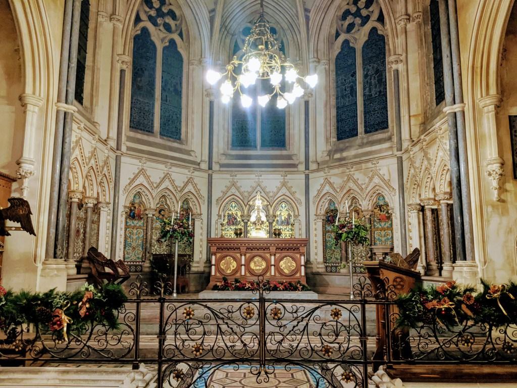 Tyntesfield at Christmas - The Chapel