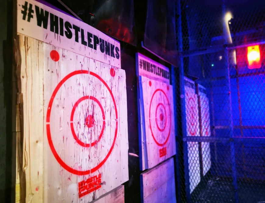 Whistle Punks Urban Axe Throwing Bristol