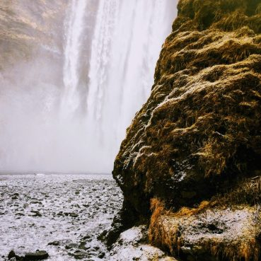 Skogafoss in March