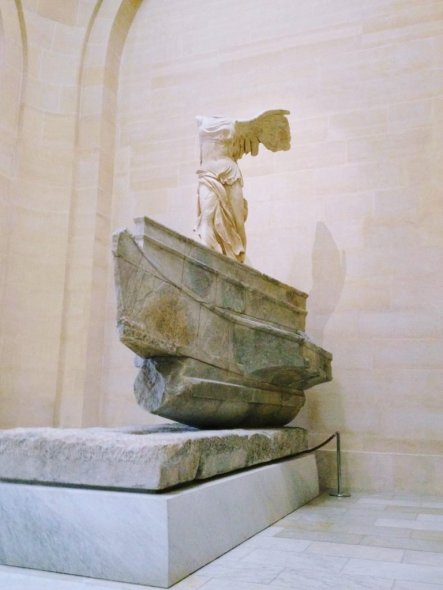 Venus di Milo statue in the Louvre, Paris
