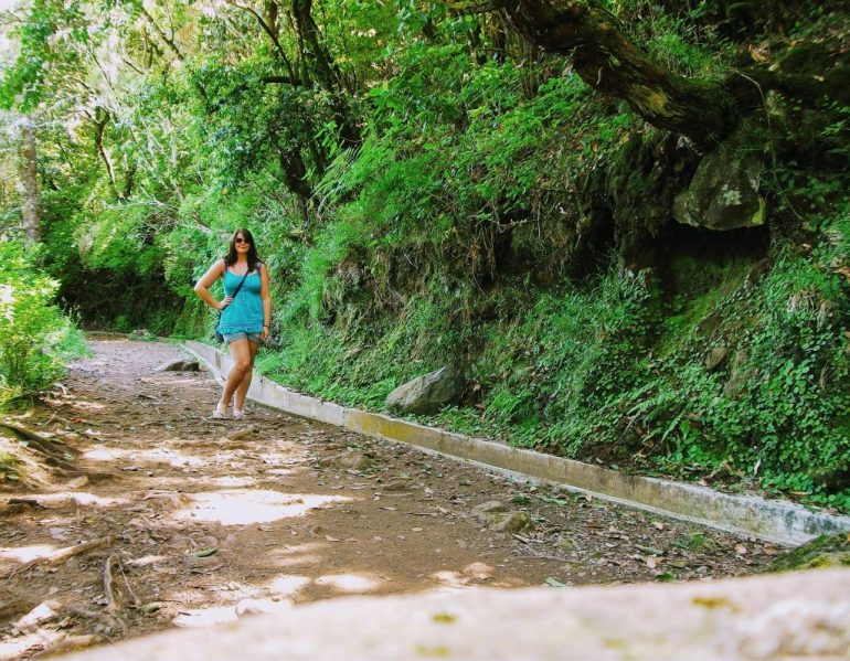 Walking along the levadas in Madeira