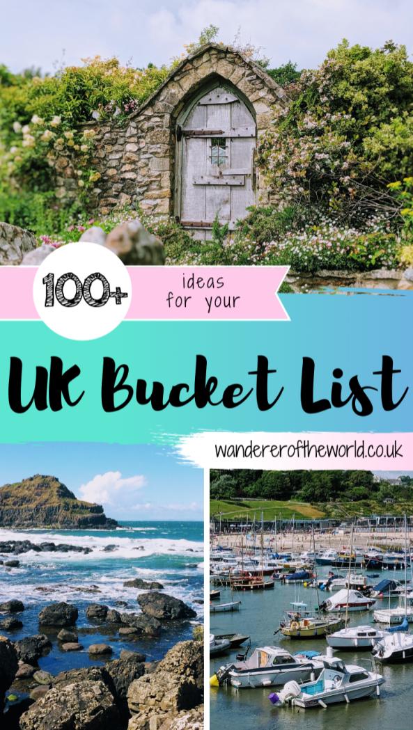 100+ Incredible UK Bucket List Ideas & Destinations