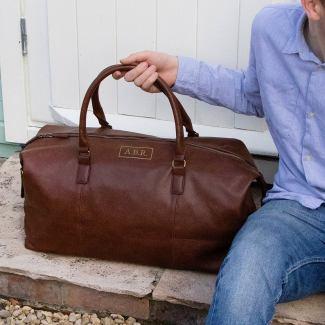 Leather Holdall Groomsmen Gift