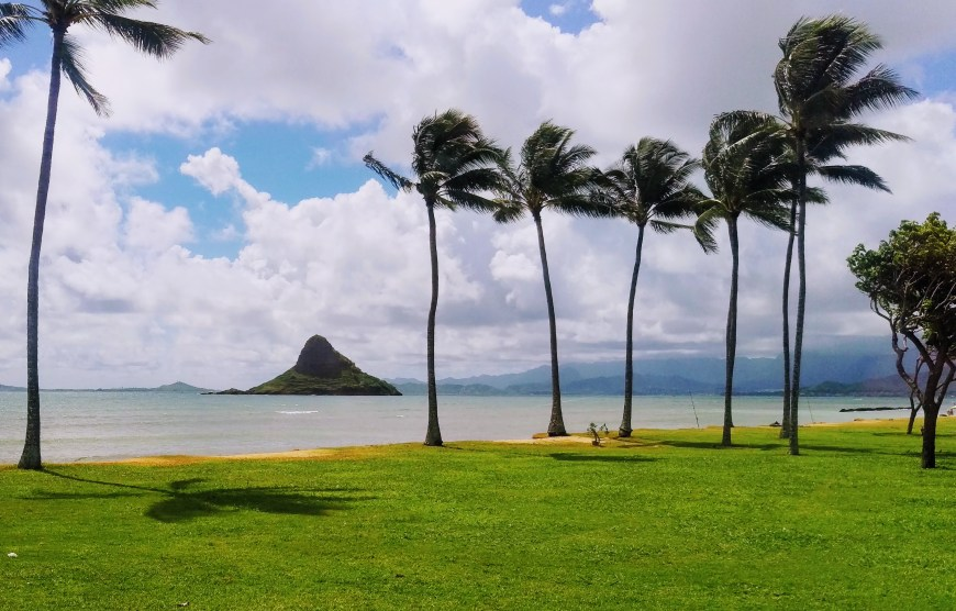 Chinaman's Hat Island Hawaii