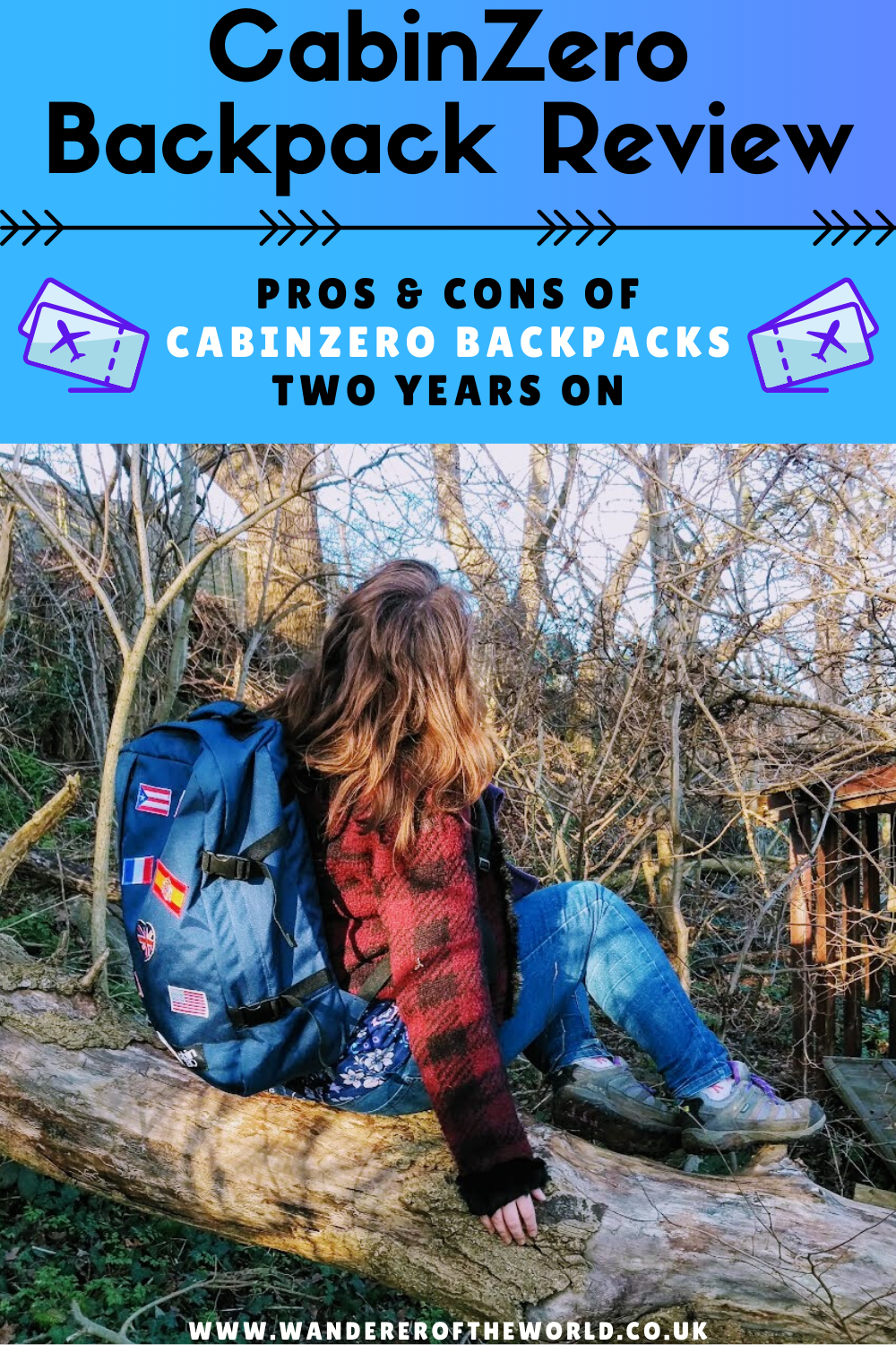 CabinZero 44L Backpack Review - 2 Years On