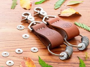 The Wander Club Token Collection Keychain