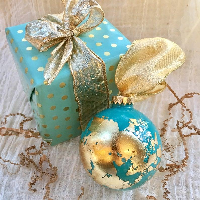 Travel Themed Christmas Ornaments - Globe Ornament