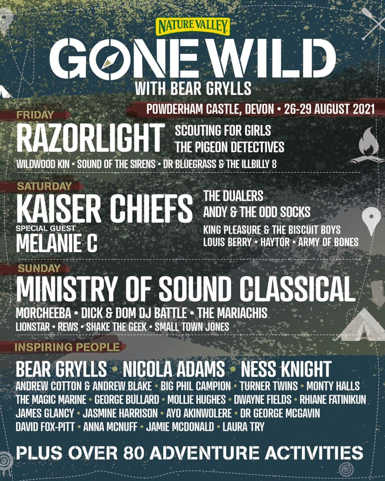 Gone Wild Festival Lineup