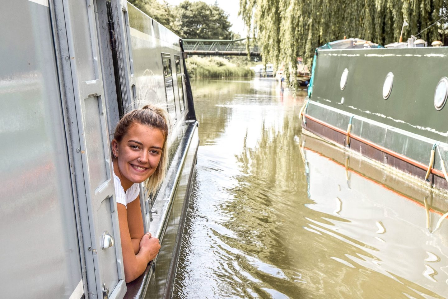 Wanderers & Warriors - Charlie & Lauren UK Travel Couple - Boat Life - Living On A Narrowboat Living England