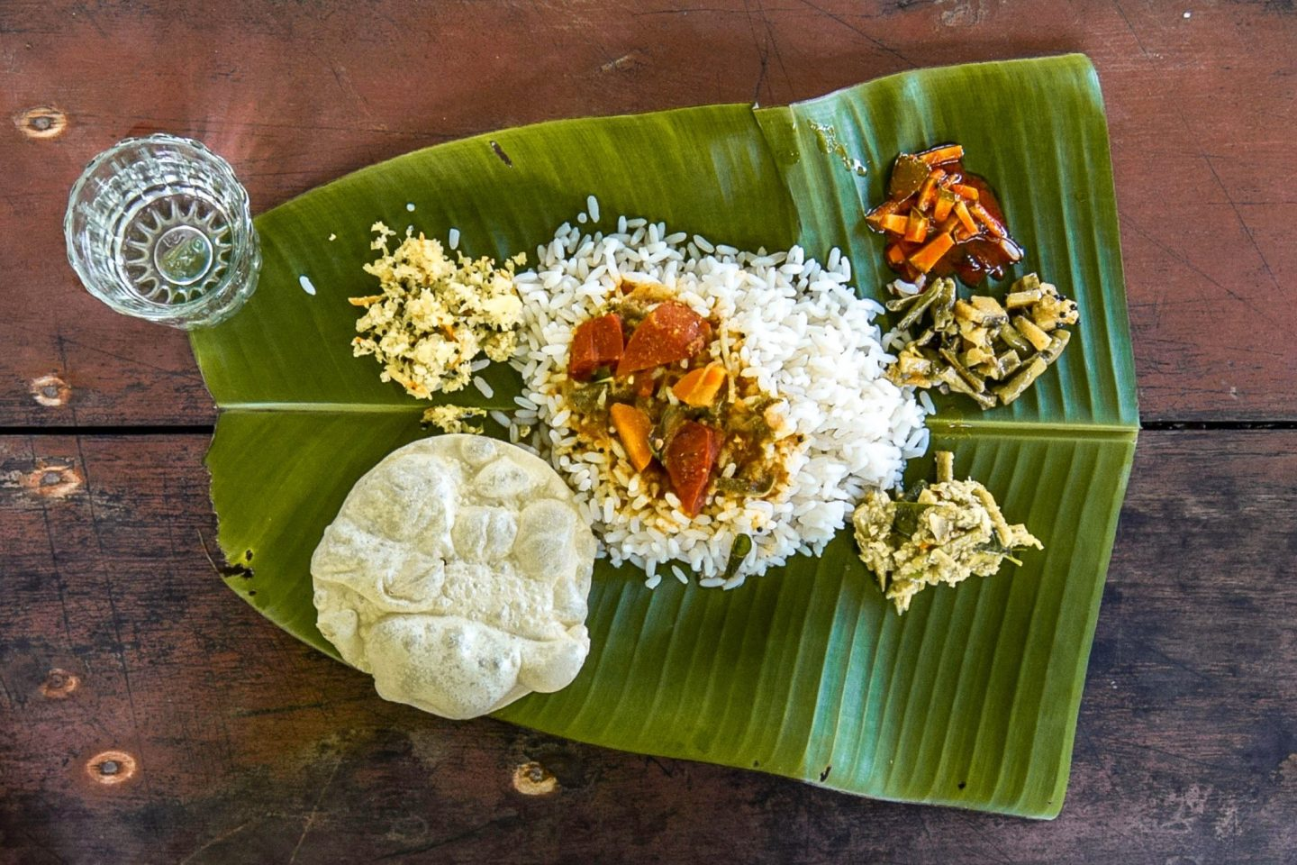 Wanderers & Warriors - Kerala Backwaters Tour - A Houseboat Experience India Thali