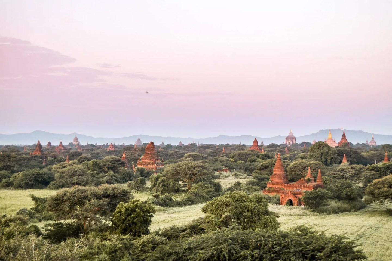 Wanderers & Warriors - Bagan Temples - Best Pagodas For Sunrise & Sunset - Bagan Sunset Myanmar