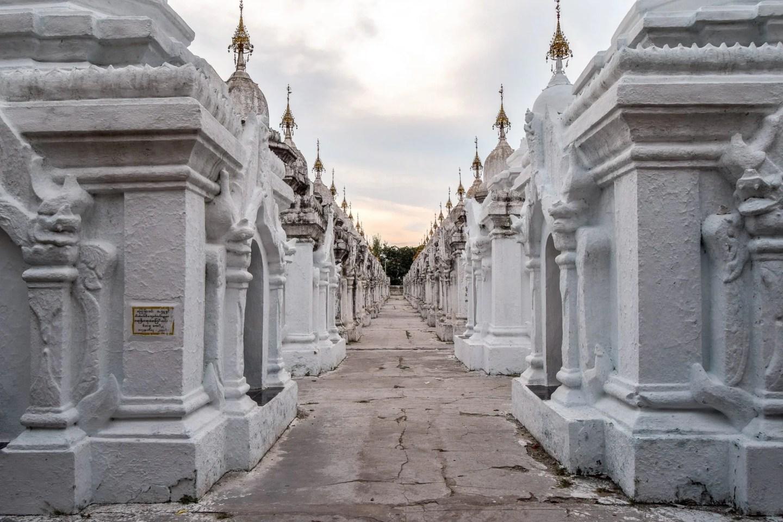 Wanderers & Warriors - Top 5 Things To Do In Mandalay - Kuthodaw Pagoda Myanmar