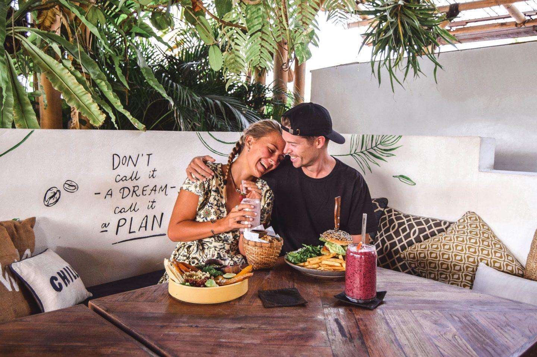 Wanderers & Warriors - Charlie & Lauren UK Travel Couple - Shelter Seminyak Bali - Best Restaurants In Seminyak Restaurants - Smoothie Bowls Bali