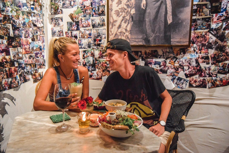 Wanderers & Warriors - Charlie & Lauren UK Travel Couple - MyWarung Bali - Best Restaurants In Bali Food - Best Restaurants In Canggu