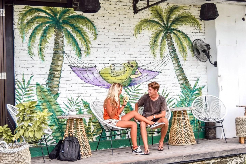 Wanderers & Warriors - Charlie & Lauren at The Avocado Factory, Canggu, Bali