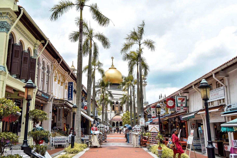Wanderers & Warriors - Masjid Sultan - Haji Lane Singapore