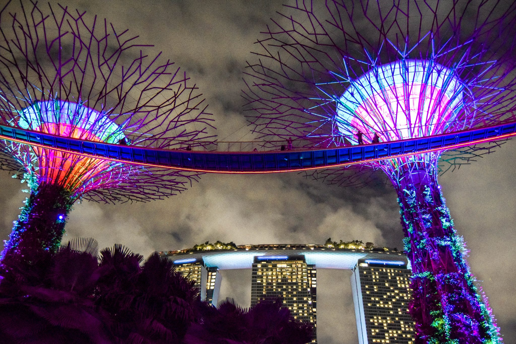 Wanderers & Warriors - The Incredible Singapore Light Shows