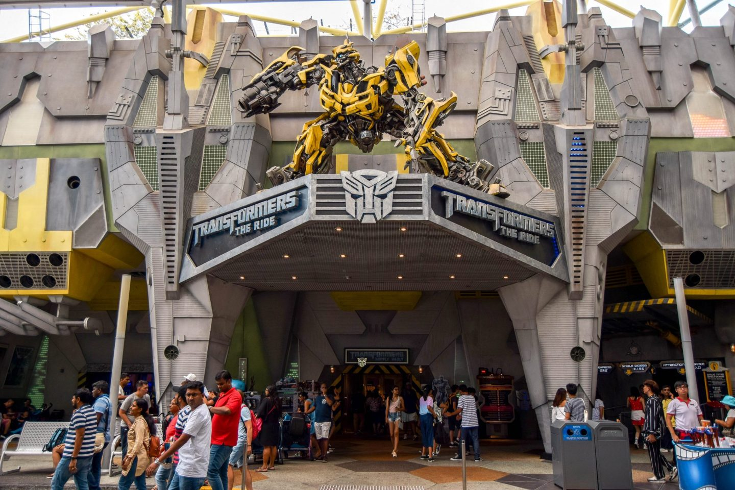 Wanderers & Warriors - Transformers: The Ride - Universal Studios Singapore - Best Rides & Guide