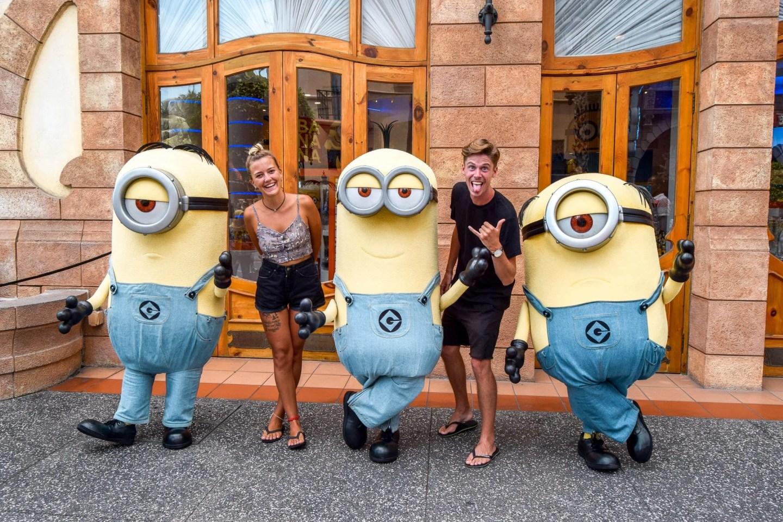 Wanderers & Warriors - Charlie & Lauren UK Travel Couple Minions - Universal Studios Singapore - Best Rides & Guide