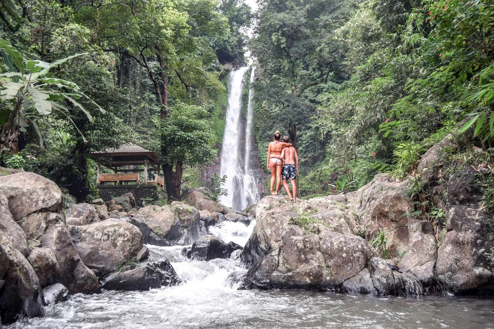 Wanderers & Warriors - Charlie & Lauren UK Travel Couple - Git Git Waterfall Bali - A Northern Treasure - Best Bali Waterfalls - Best Waterfalls In Bali - Northern Bali