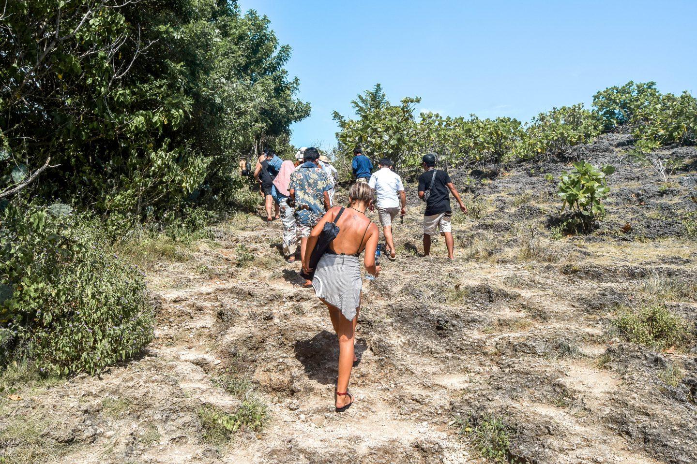 Wanderers & Warriors - Charlie & Lauren UK Travel Couple - The Walk To Angel's Billabong From Broken Beach - Things To Do Nusa Penida - Our Nusa Penida Tour - Nusa Islands