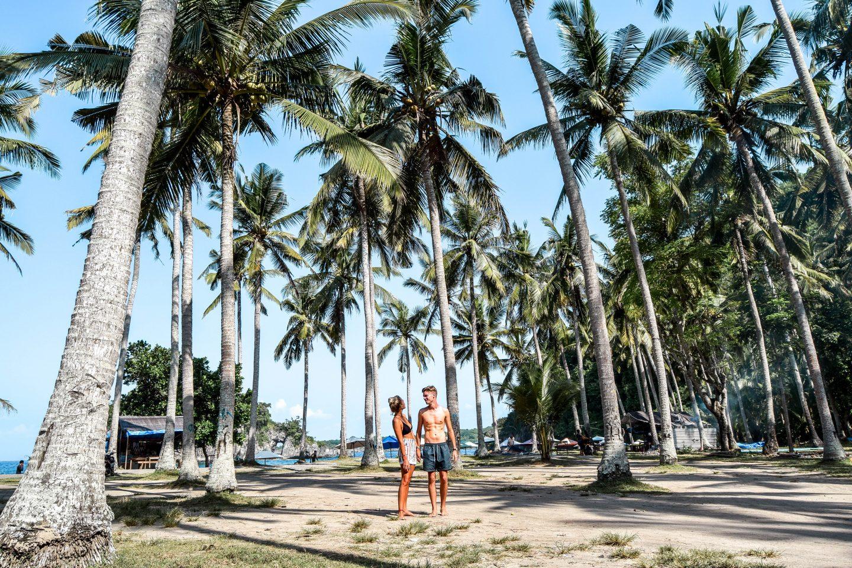 Wanderers & Warriors - Charlie & Lauren UK Travel Couple - Crystal Bay Beach - Things To Do Nusa Penida - Our Nusa Penida Tour - Nusa Islands