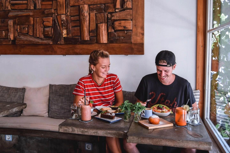 Wanderers & Warriors - Charlie & Lauren UK Travel Couple - Bottega Italiano Restaurant Canggu Bali - Best Restaurants In Bali Food - Best Restaurants In Canggu