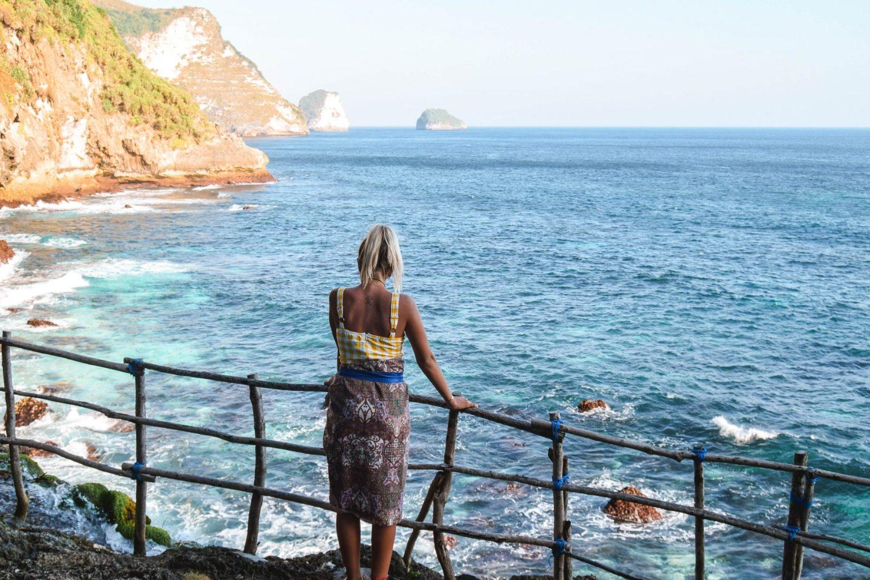 Wanderers & Warriors - Charlie & Lauren UK Travel Couple - Peguyangan Waterfall Nusa Penida Bali - Blue stairs nusa penida blue stairs - mata air peguyangan water of springs