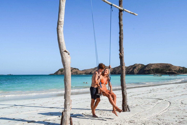 Wanderers & Warriors - Charlie & Lauren UK Travel Couple - Tanjung Aan Beach - Tanjung Aan Lombok - Pantai Tanjung Aan - best beaches in lombok beaches