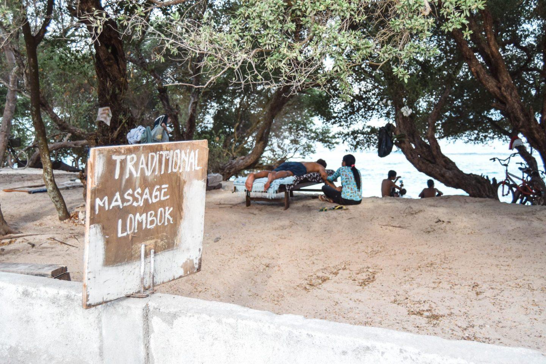 Wanderers & Warriors - Things To Do On Gili Trawangan - things to do gili islands massage