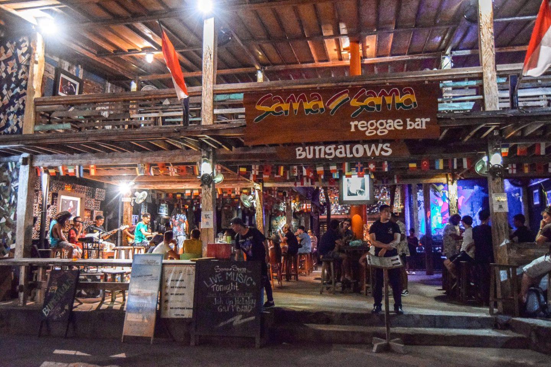 Wanderers & Warriors - Things To Do On Gili Trawangan - things to do gili islands sama sama reggae bar