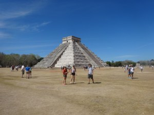 Destinations: Chichen Itza. The Pyramid of Kukulcan. 2017