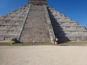 The Temple of Kukulcan. Chichen Itzá