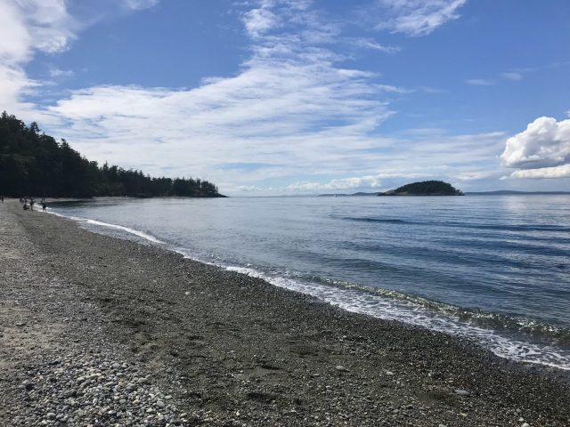 North Beach in Deception Pass State Park