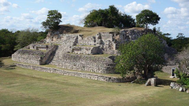 Aké Ruins. Low Pyramid