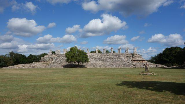 The Palace at Aké Ruins, Yucatan