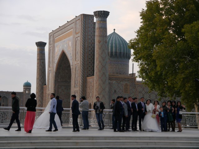 yes this is the Registan not the Ulugh Beg observatory, but the others were all taken at the observatory!