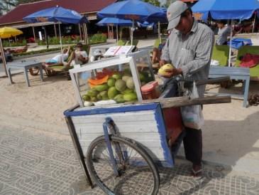unripe mango is a popular snack (it grew on me..)