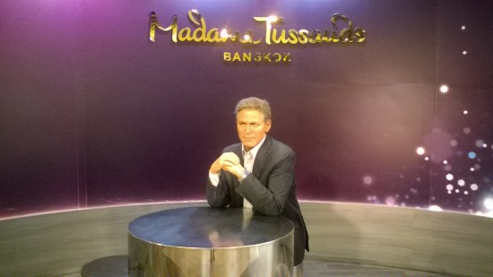 I accidentally stumbled across the Bangkok Madam Tussauds (not at Khao San, in case you actually want to go there..) But who even *is* this?? Am I being thick?