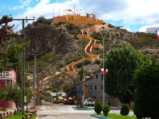 Chile Chico´s Disney castle of a mirador.