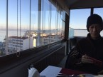 Explore Canakkale, Turkey-Canak Hotel Restaurant View from Inside