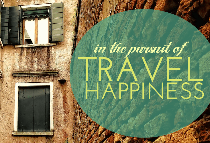 Wandering the Streets of Gracia in the Pursuit of Travel Happiness
