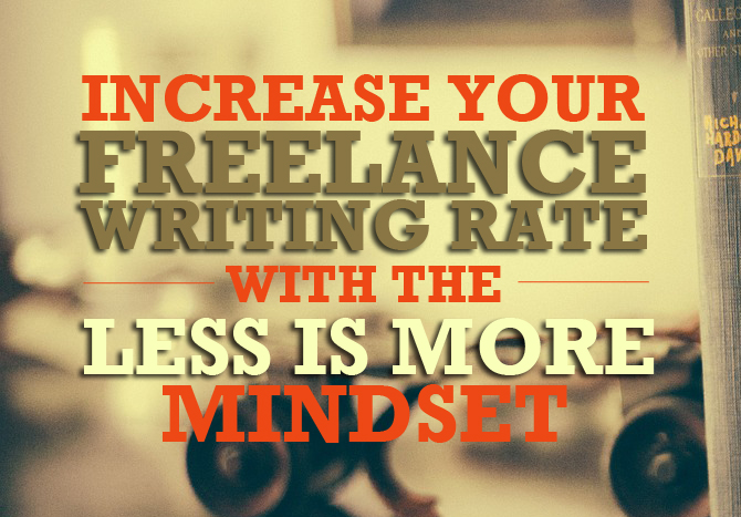 freelance writing rate