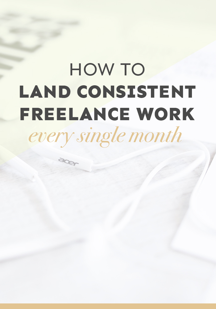 Do you struggle to land consistent freelance work every single month? In this detailed post (it's a whopping 3,000 words!), I show you how you can create a community that will help you land work over and over again.