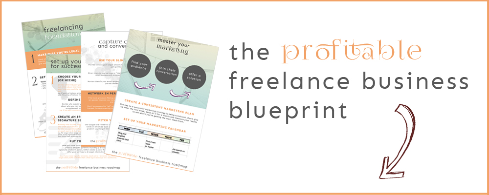 Profitable framework blueprint blog post graphic