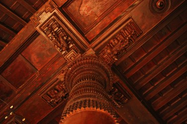 Wooden carvings in BVR House